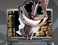 Photo Manipulation (Dell Ad)