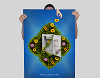 RECYCLING WEEE / Advertising Poster
