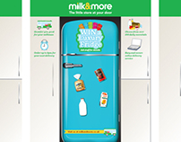 Milk&More - shopping centre experience