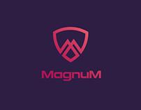 Magnum alarm company logo