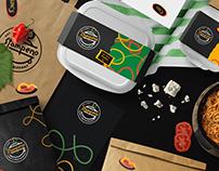 Stampeno brand design.