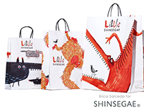 Animals and tipography for Shinsegae kids floor