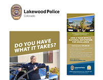 Lakewood Police Department | Recruiting Materials