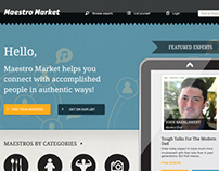 Maestro Market WebDesign