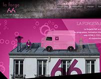 Web design / laforge66.com / identité / 2013