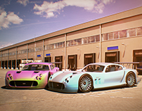TVR Cerbera Speed 12 Mermac Edition