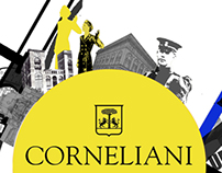 Graphic design for CORNELIANI
