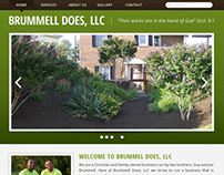 Brummell Does Website