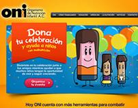 ONI - Tu Celebración Ayuda : Finalista Caracol de Plata