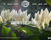 Rise Up Coffee Website