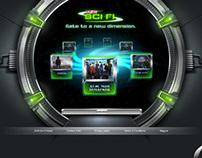 AXN Sci-Fi Microsite