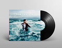 Tom Chaplin: The Wave album cover retouching