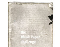 FEDRIGONI BLANK PAPER CHALLENGE 2016