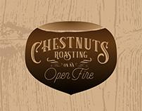 Chestnuts Holiday Pattern