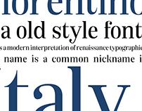 Florentino Typeface
