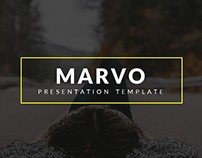 Marvo Presentation Template