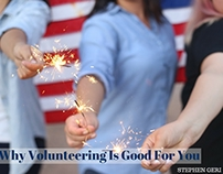 Stephen Geri's Why Volunteering Is Good For You