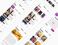 Cinema app   Case Study   Redesign