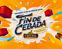 """Fin de Cebada"" Cristal"
