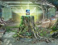 360° Interactive MattePainting HorizonZeroDawn
