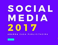 Social Media 2017 Abarka Casa Publicitaria