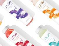 The 8 TimeWater Packaging design