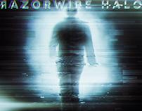 Razorwire Halo - Never Look Back Single Cover Design