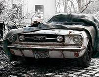 Abandoned Mustang