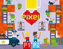 Pixel Love: Birthday boy's big night out.