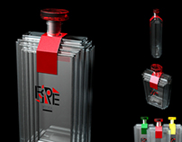 Fire Vodka Rendering