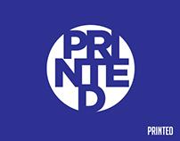 WORK:Printed
