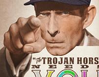 The Trojan Horse - Promo design work