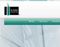 CE Glass corporate website