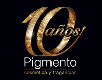 Pigmento 10 años! | Branding