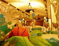 Creations for Christening - Basketball