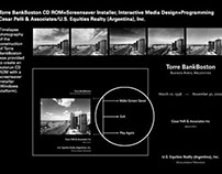 TorreBank Interactive Screensaver/CD Rom