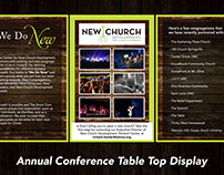 New Church Development Table Display
