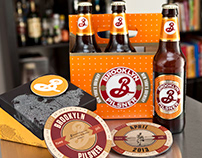 Brooklyn Brewery Calendar Coasters
