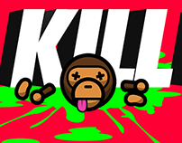 Ape Shall Never Kill Bape