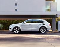 Bentley Bentayga Hybrid - CGI & Retouching