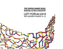Left Forum Conference Identity 2010