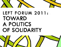 Left Forum Conference Identity 2011