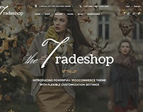 TradeShop - eCommerce Template Design