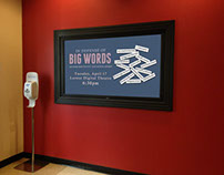 In Defense of Big Words Digital & Print Signage