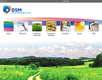 DSM iPad/Mobile HTML5 Website