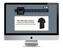 R9 Brand Identity & Site Design
