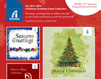 Christmas greeting cards collection 2011