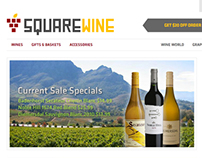 SquareWine Website