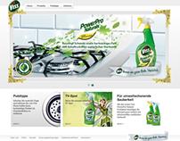 Viss/Cif | Relaunch Brand Website