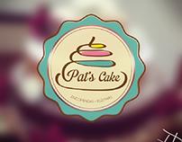 IDENTIDADE VISUAL | PAT'S CAKE
